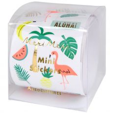 Mini Tropical Sticker Roll from the Meri Meri Collection
