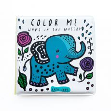 Color Me: Who's in the Water?, a bathtime coloring book from Wee Gallery :: Design Bottega