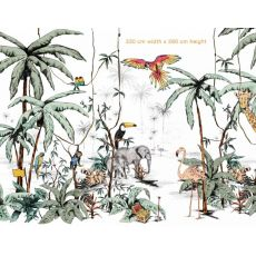 Jungle Color Mural 330 X 260cm da Annet Weelink :: Baby Bottega