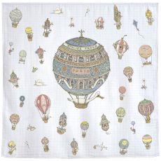 Les Montgolfieres Carré di Atelier Choux :: acquista su Baby Bottega