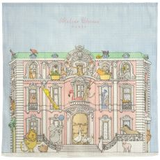 Monceau Mansion Carré baby blanket from Atelier Choux :: Baby Bottega