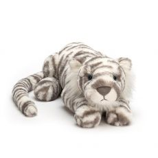Sacha Snow Tiger from Jellycat :: Baby Bottega