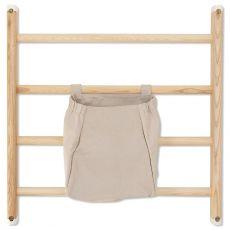 Borsa per barre da parete / spalliera in grigio chiaro di Kaos :: Baby Bottega