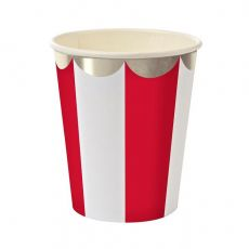 Red Stripe Cups from Meri Meri :: Christmas Collection :: Baby Bottega
