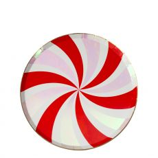 Piattini Peppermint Swirl di Meri Meri :: acquista su Baby Bottega