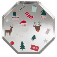 Festive Icon Dinner Plate from Meri Meri :: Baby Bottega
