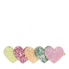 Heart Glitter Hair Clip from Meri Meri :: Baby Bottega