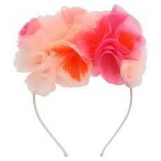 Pink Floral Headband from Meri Meri :: Baby Bottega