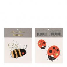 Bee & Ladybird Small Tattoos from Meri Meri :: Baby Bottega