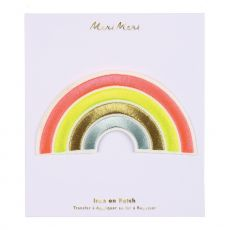 Rainbow Iron On Patch from Meri Meri :: Baby Bottega