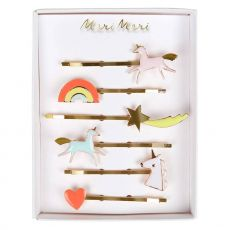 Unicorn Enamel Hairclips from Meri Meri :: Baby Bottega