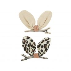 Safari Kiko Bunny Hair Clips from Mimi & Lula :: Baby Bottega