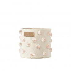 Pom Pom Blush Storage Pint from Pehr :: Baby Bottega
