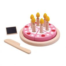 Birthday Cake Set sustainable toys from Plan Toys :: Baby Bottega