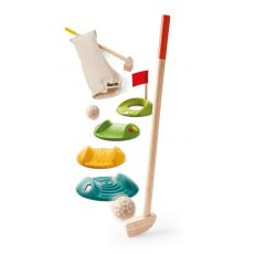 Mini Golf Set, eco-friendly from Plan Toys :: Baby Bottega