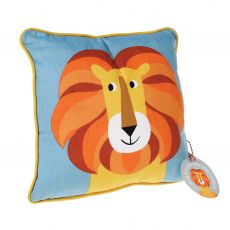 Charlie the Lion Cushion :: Baby Bottega