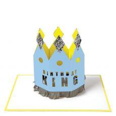 Biglietto di auguri Birthday King di Meri Meri :: acquista ora su Baby Bottega
