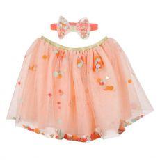 Tutu e cerchietto con coriandoli rosa di Meri Meri :: acquista ora su Baby Bottega