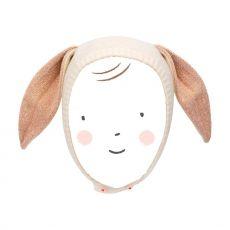Cappello Coniglietto Color Pesca di Meri Meri :: acquista ora su Baby Bottega