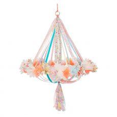 Lampadario in tessuto floreale di Meri Meri :: acquista ora su Baby Bottega