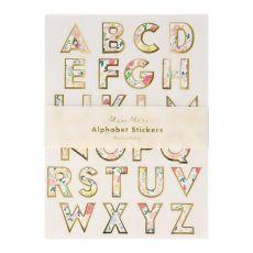 English Garden Alphabet Sticker Sheets from Meri Meri :: Baby Bottega
