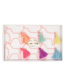 Unicorn Shaped Paper Clips from Meri Meri :: Baby Bottega