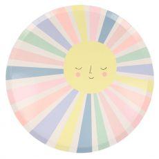 Piatti Rainbow Sun di Meri Meri :: acquista ora su Baby Bottega