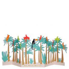 Biglietto di auguri Uccelli Tropicali di Meri Meri :: acquista ora su Baby Bottega