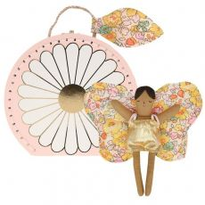 Butterfly Daisy Mini Suitcase Doll from Meri Meri :: Available at Baby Bottega