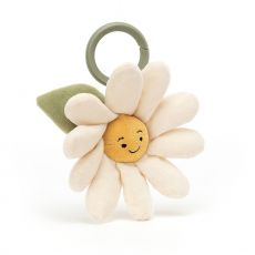 Fleury Daisy Jitter, soft toy for newborns from Jellycat :: Baby Bottega