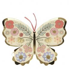 Floral Butterfly Plates from Meri Meri :: Available at Baby Bottega