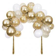 Gold Balloon Arch Kit from Meri Meri :: Available at Baby Bottega