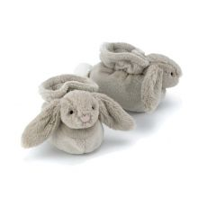 Bashful Beige Bunny Booties from Jellycat :: Baby Bottega