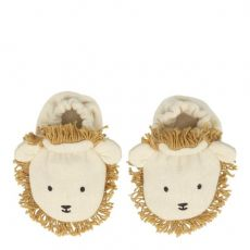 Lion Baby Booties from Meri Meri :: Available at Bay Bottega