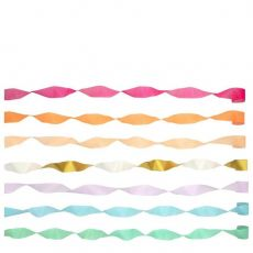Bright Crepe Paper Streamers from Meri Meri :: Baby Bottega