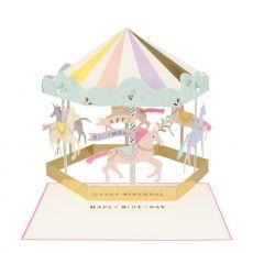 Carousel Biglietto di Auguri 3D di Meri Meri :: Baby Bottega