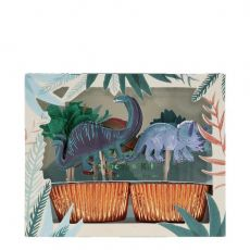 Dinosaur Kingdom Cupcake Kit di Meri Meri :: Baby Bottega