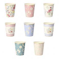 Bicchieri English Garden di Meri Meri :: Baby Bottega