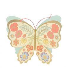 Floral Butterfly Biglietto di Auguri di Meri Meri :: Baby Bottega