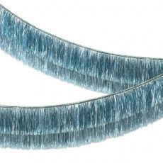 Blue Tinsel Fringe Garland from Meri Meri :: Baby Bottega