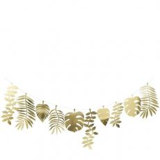 Gold Foliage Large Garland from Meri Meri :: Baby Bottega