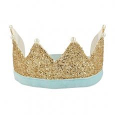 Gold & Pearl Party Crown from Meri Meri dress-up :: Available at Baby Bottega