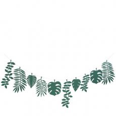 Green Foliage Large Garland from Meri Meri :: Baby Bottega Party Supplies