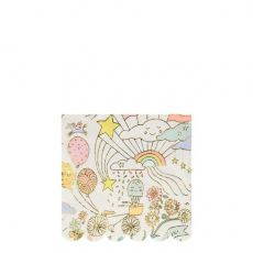 Happy Doodle Small Napkins from Meri Meri :: Baby Bottega