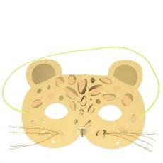 Leopard Maschera Biglietto di Auguri di Meri Meri :: Baby Bottega