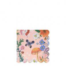 Nathalie Lete Flora Small Napkins from Meri Meri :: Baby Bottega