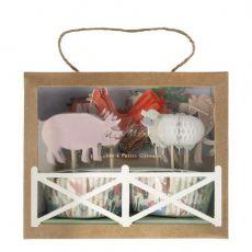 On the Farm Cupcake Kit from Meri Meri :: Baby Bottega Party Supplies