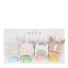 On the Farm Party Blowers from Meri Meri :: Baby Bottega