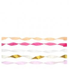 Pink Crepe Paper Streamers from Meri Meri :: Baby Bottega