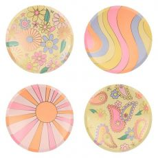 Psychedelic 60s Dinner Plates from Meri Meri :: Baby Bottega